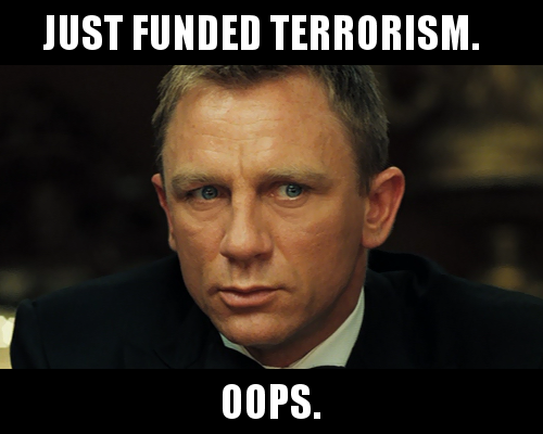 Casino royale quotes finger