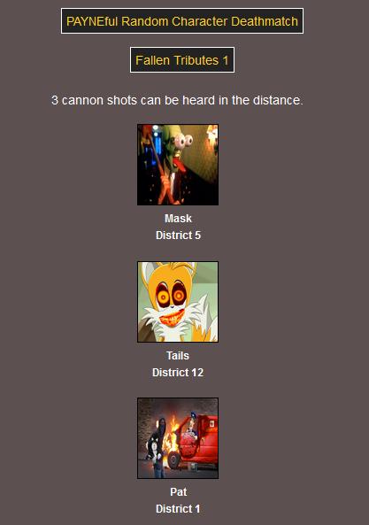 Fallen Tributes 1