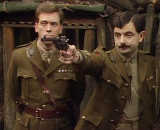 blackadder goes forth - corporal punishment essay Blackadder goes forth the final series of the classic blackadder found edmund (rowan atkinson) finally demoted to the position of captain in the king's army.