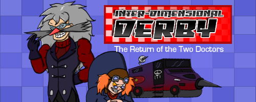 Inter-Dimensional Derby - Return of the Two Doctors webcomic series