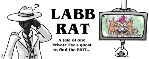 Labb Rat: A tale of one Private Eye's quest to find the EXIT