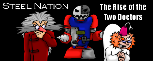 Steel Nation - Rise of the Two Doctors webcomic series