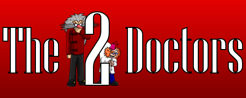 The Two Doctors - Comics about a pair of dastardly mad scientists